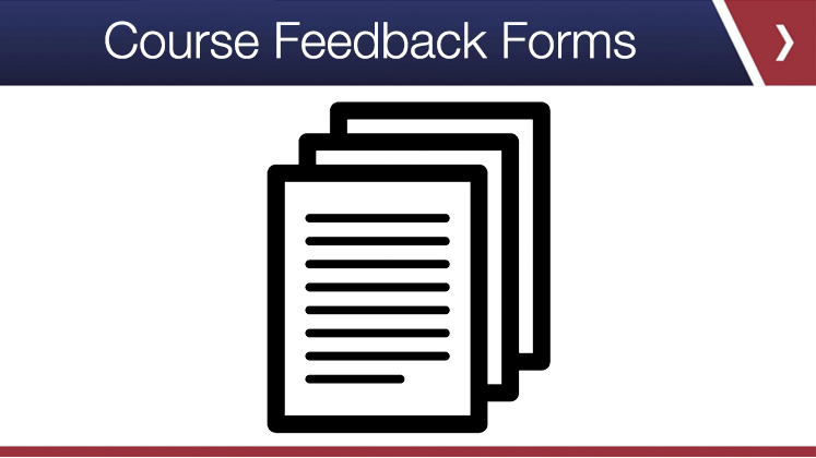 Course Feedback Forms